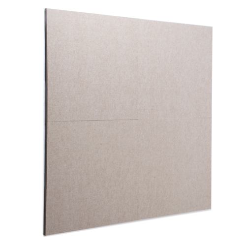 KEYSTONE 聲學纖維吸音板 60X60cm16片裝-淺駝