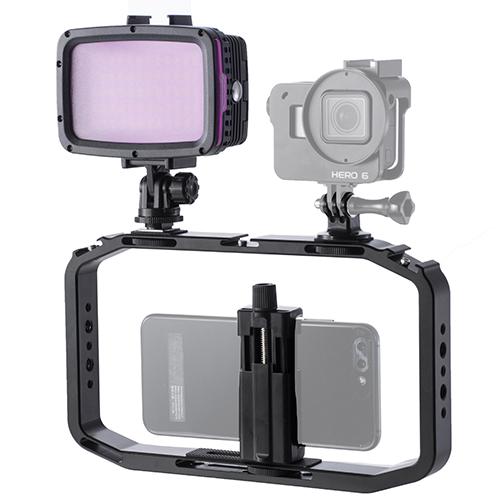 Keystone 手機/GoPro潛水提籠支架組(12W)