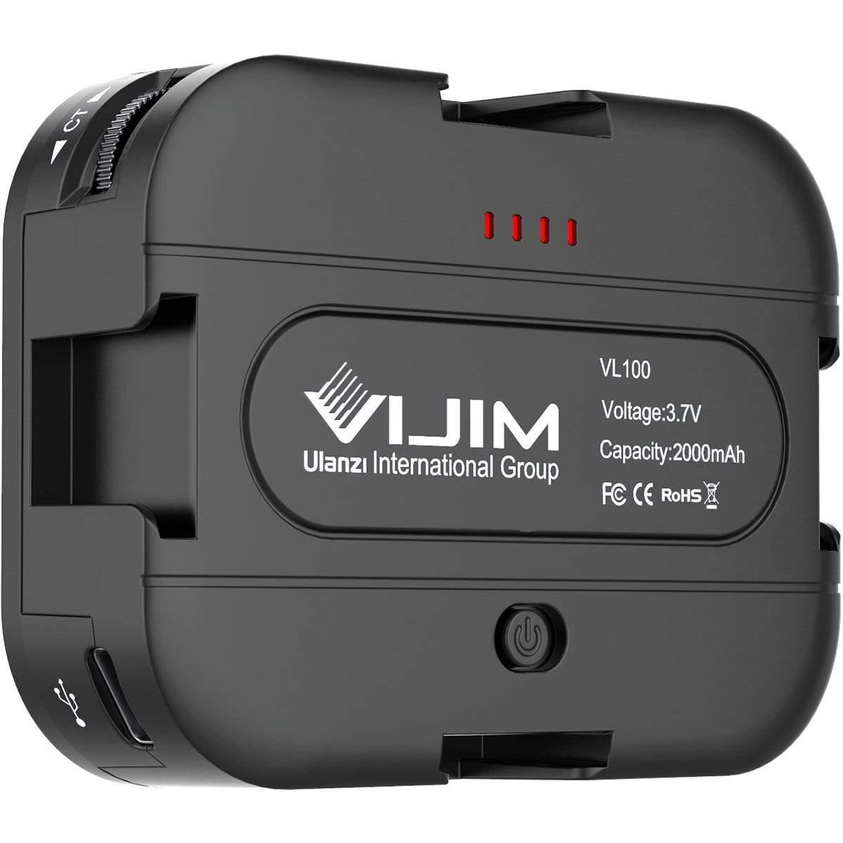 VIJIM VL 100C 雙色溫LED燈(鋰電)