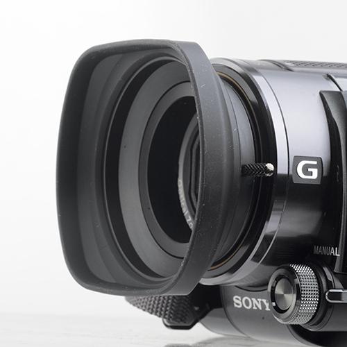 UNX-8113 37mm方型橡膠遮光罩