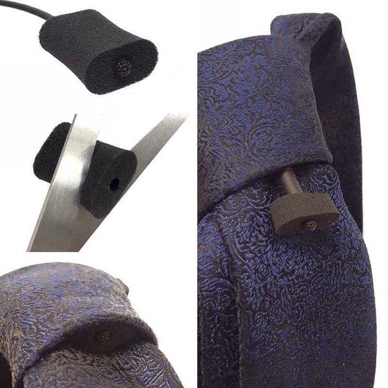 URSA 領夾麥克風靜音泡棉(黑色12入)
