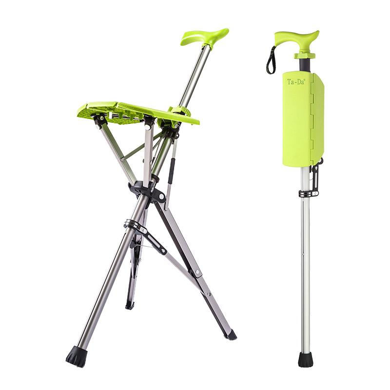 Ta-Da 泰達自動拐杖椅 (萊姆綠)