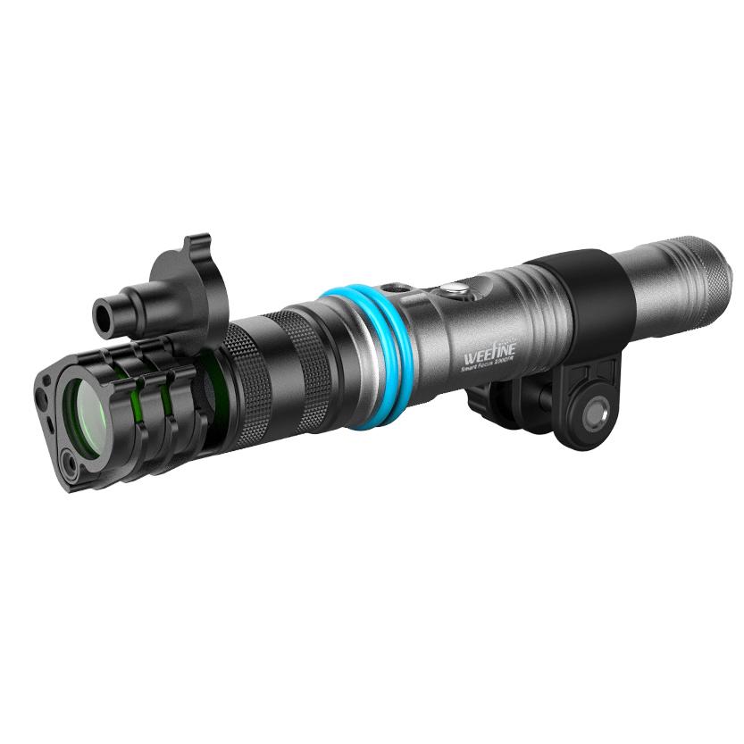 WEEFINE Smart Snoot 潛水近攝聚光燈