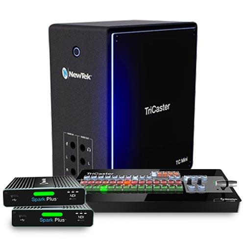 TC Mini 4K NDI直播導播機含迷你控盤
