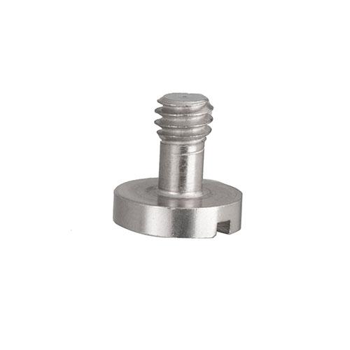 KEYSTONE鍍鎳鐵質1/4一字相機螺絲 (長)