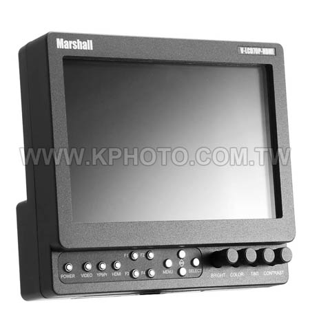 (出清商品)Marshall 3GSDI-V 7吋高解析監看螢幕