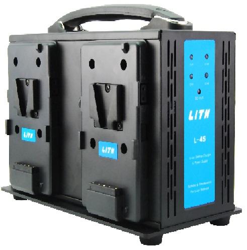 LITH L-4S 四座充電器 V掛(V-LOCK)