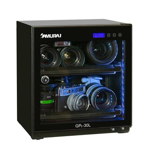 SAMURAI GP5-30L 藍光數位電子防潮箱