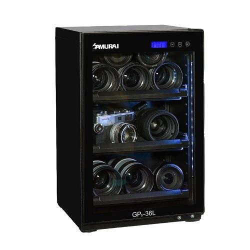 SAMURAI GP5-36L 藍光數位電子防潮箱